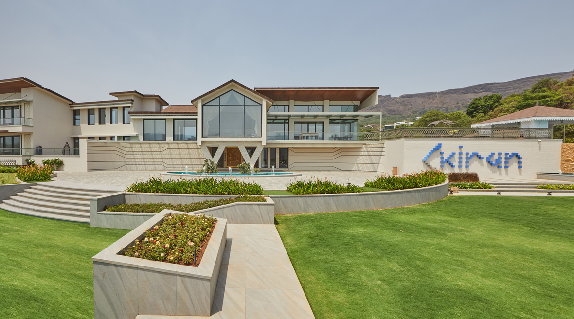 ACDS designs Kiran Villa, a weekend home at West Lake, Aamby Valley