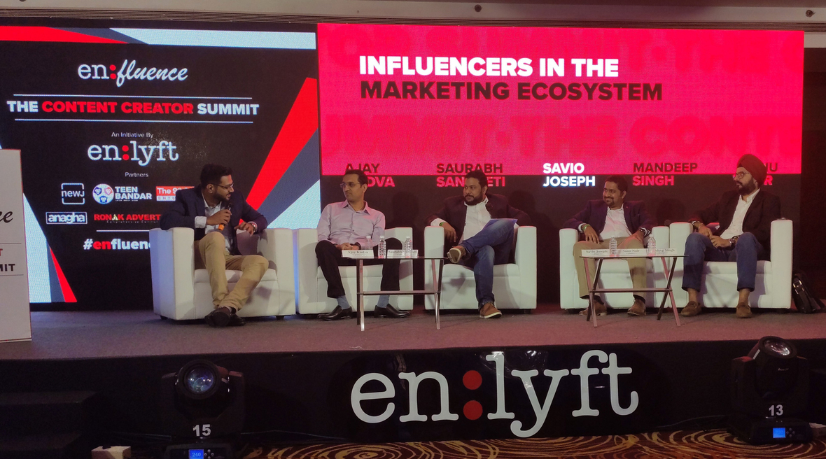 India's top influencers and brands unite at Enlyft Network's Enfluence - the Creator Summit in Navi Mumbai