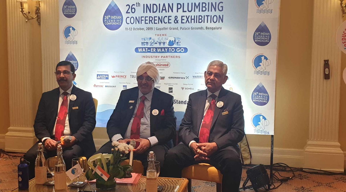The 26th Indian Plumbing Conference in Bengaluru receives great response