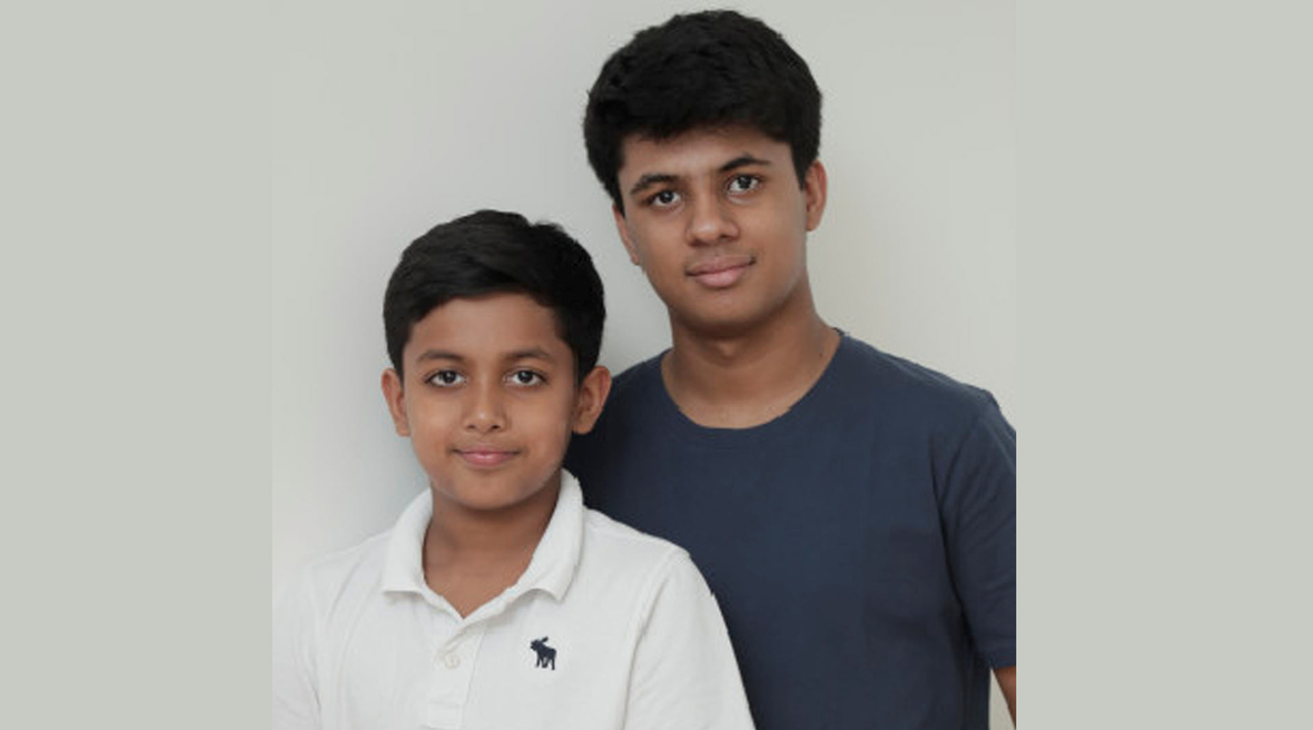 Young Indian brothers from Delhi win Blueair Clean Air Prize