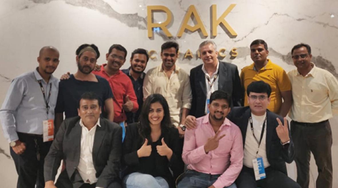 RAK Ceramics' participation at ACETECH was a grand success
