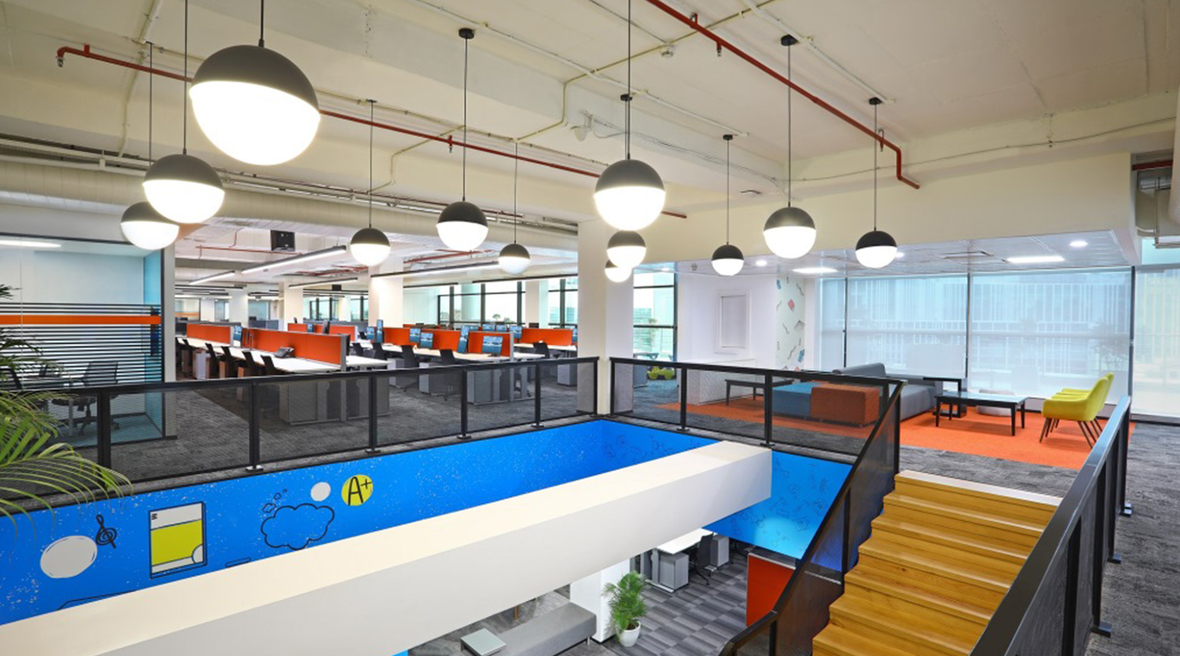 American company Chegg sets up a bright new office in India