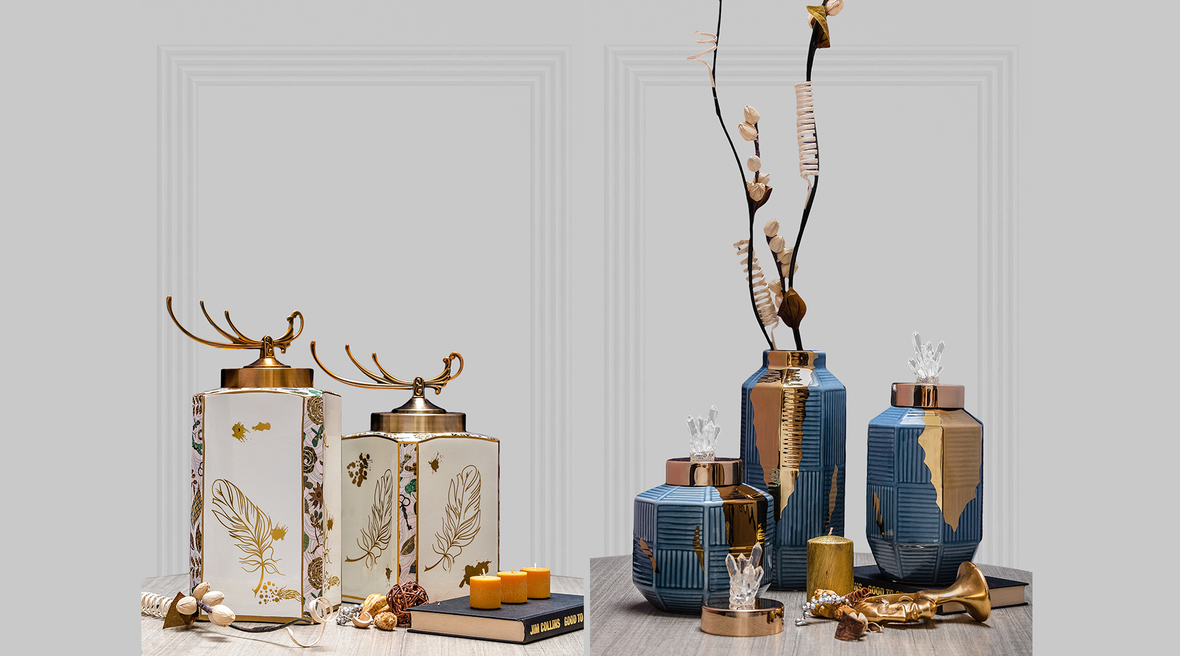 The Decor Circle has a new range of Vintage Jar Collection for you!