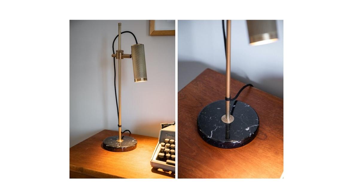 Brighten the workspace with spot desk light