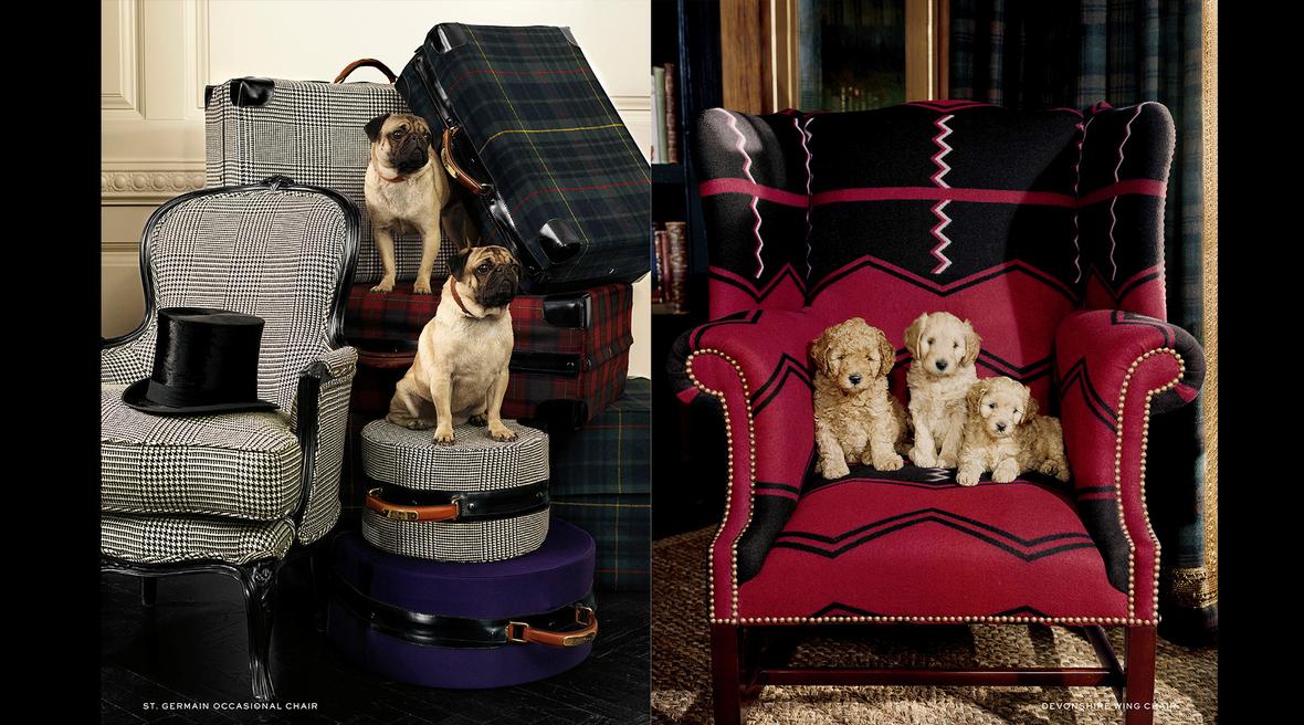 Ralph Lauren Home presents statement armchairs