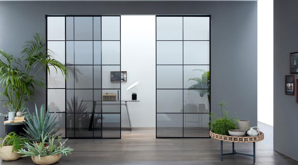 Lualdi launches minimalist sliding glass doors