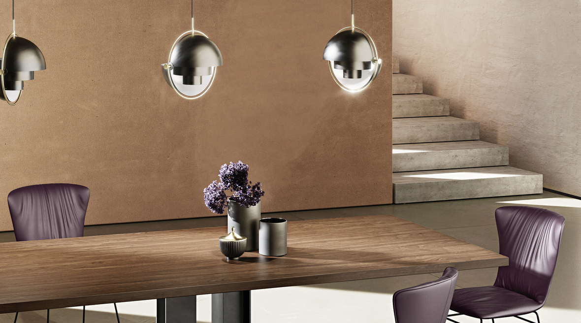 Plüsch launches dining tables by Draenert