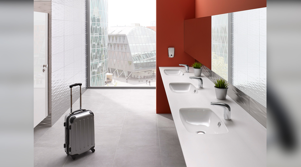 VitrA sensor faucets improve hygiene and conserve water