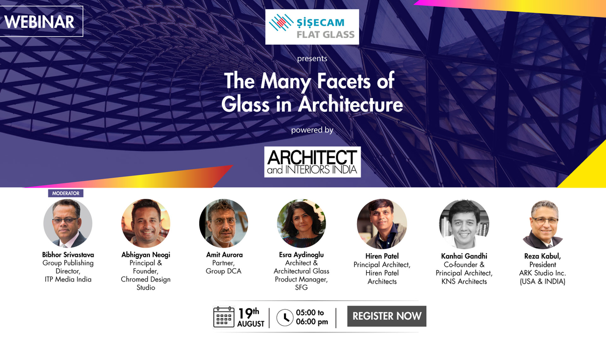 Sisecam Flat Glass presents a webinar on The many facets of Glass in Architecture