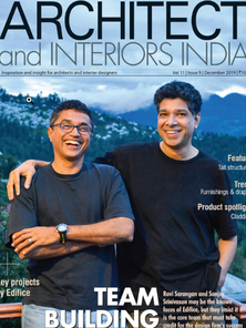 Architect and Interiors India December 2019