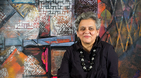 Mumbai-based contemporary artist Brinda Miller holds her 16th solo show