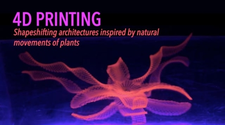 4D Printing Shapeshifting Architecture Technology