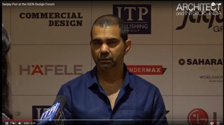 Sanjay Puri at the IGEN Design Forum