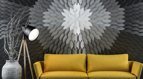 Delhi-based luxury wall surfaces company, Ventura launches Mabel – the latest in its 3D wall range of panelling