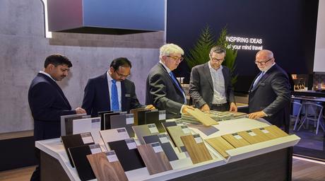 Greenlam Industries boasts an impressive presence at Interzum 2019 in Germany