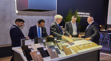 Greenlam Industries boasts an impressive presence at Interzum 2019 in Germany