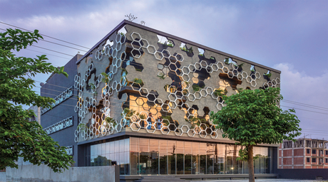 Innovative facades for built structures are growing popular in India
