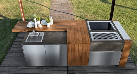 Aster Cucine launches outdoor kitchen collection