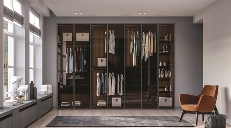 Dall'Agnese's extensive range of wardrobe solutions marry craft and space-efficient design