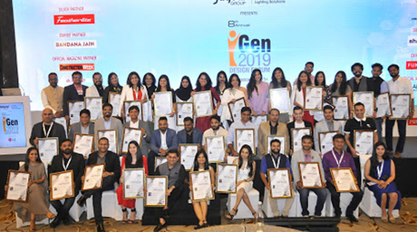 Young architects and designers from all over India felicitated at iGen Design Forum 2019
