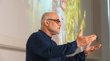 Rahul Mehrotra held a masterclass hosted by Godrej Culture Lab in Vikhroli, Mumbai