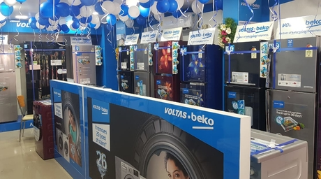 Voltas launches new brand shop at Gajuwaka, Visakhapatnam