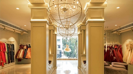 Sionnah's Fashion Boutique in Mumbai designed by SKD