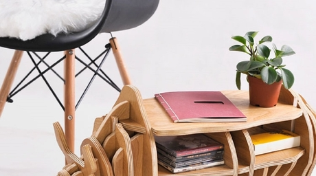 Nordic style rhino bookshelf by Casa Exotique