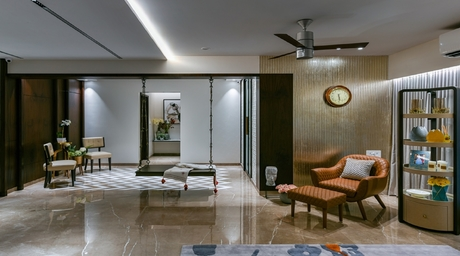 SN House at Chembur is like an oasis in the city of Mumbai