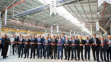 VitrA opens its 4th and newest production line for export markets at Bozüyük, Turkey