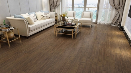 Elegant Borneo teak flooring by Xylos