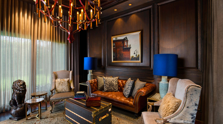 Beyond Designs unveils formal yet cosy living room