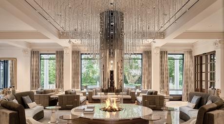 Czech designer Sans Souci decorates Grand Resort in Bad Ragaz, Switzerland