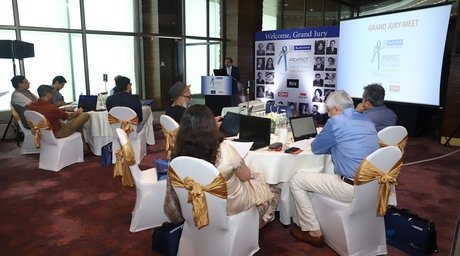 Jury meet of The Aces of Space Design Awards 2019 takes place at The St.Regis Hotel, Mumbai