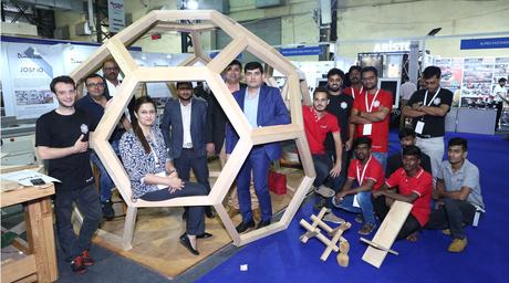 Canadian Wood showcases Western Hemlock at Mumbai Wood exhibition