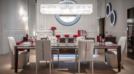 Baccarat La Maison launches crystal-studded furniture and accessories