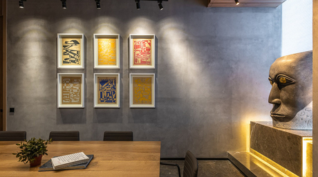 Super Surfaces create art with concrete finishes