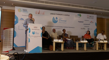 Experts try to find ways to make Chennai water positive