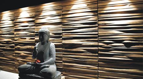 SPAN Floors unveils chic teak wall panels