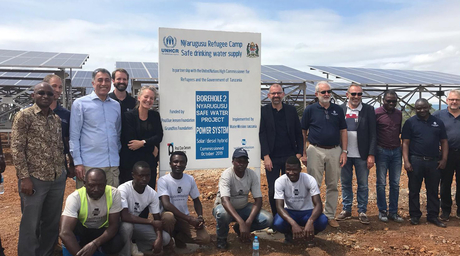 Solar-powered safe water for 2,00,000 in Western Tanzania