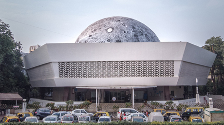 #MoonInMumbai: Asian Paints & Sideways create Lunar Dome at Nehru Planetarium with St+art