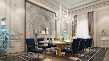 42MM Architecture resurrects the concept of Grand Dining Rooms