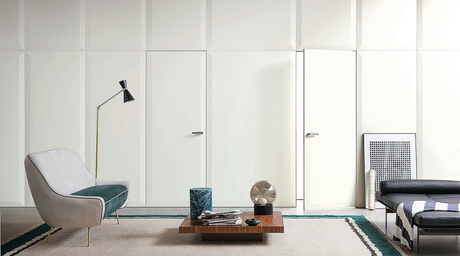 Give homes hotel-like finesse with Lualdi doors & walls
