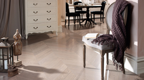 Span Floors launches Chevron collection from Coswick