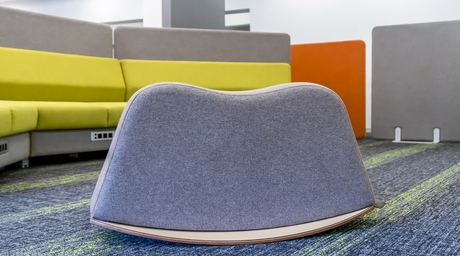 The Saddle - a playful addition to workspaces by Featherlite