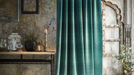 RR Decor unveils a new collection of furnishing fabrics - Izora
