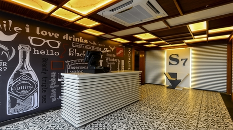 When in Bhopal, check out the über chic S7 Cafe