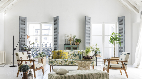 Clarke & Clarke launches a new collection of furnishing fabrics