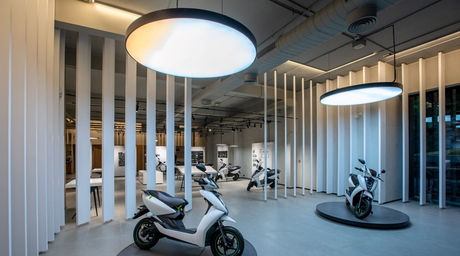 Studio Lotus creates a slick space for an automotive brand in Chennai