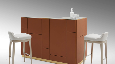 Fendi Casa launches exclusive bar unit & stools